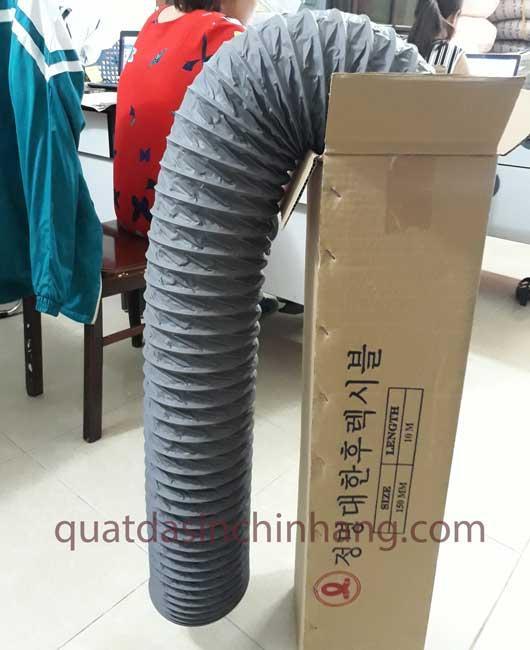 Ống gió mềm vải Tarpaulin D100