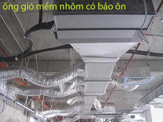 lắp đặt ống thông gió điều hòa