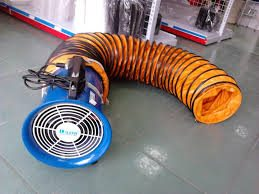 ống gió nối đầu quạt hút