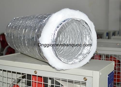 Lý do nên dùng ống gió mềm nhôm bảo ôn