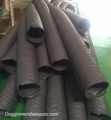 kích thước ống gió mềm vải tarpaulin