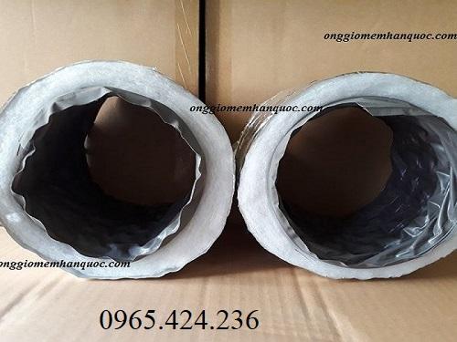 ống gió mềm bảo ôn bông polyestes 3