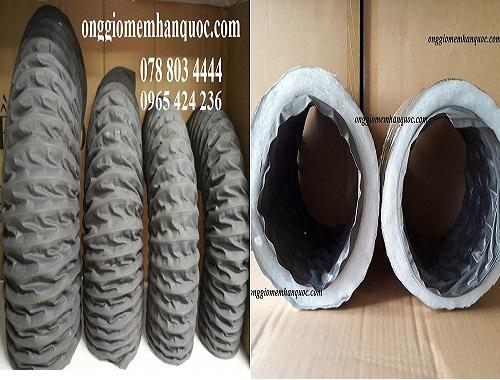 ống gió mềm vải tarpaulin bán trên thị trường