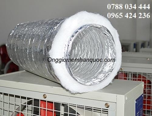 Báo giá ống gió mềm nhôm phí 250 Hàn Quốc 3