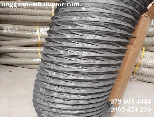 bán ống gió mềm vải Fiber D200 không bảo ôn Hàn Quốc 2