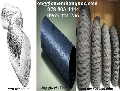 kích thước các loại ống gió mềm Hàn Quốc 1