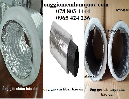 kích thước các loại ống gió mềm Hàn Quốc 2