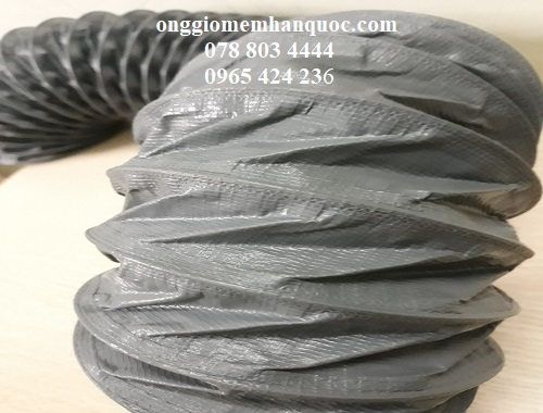 nhà cung cấp các loại ống gió mềm vải tarpaulin deahan flexible hàn quốc 1