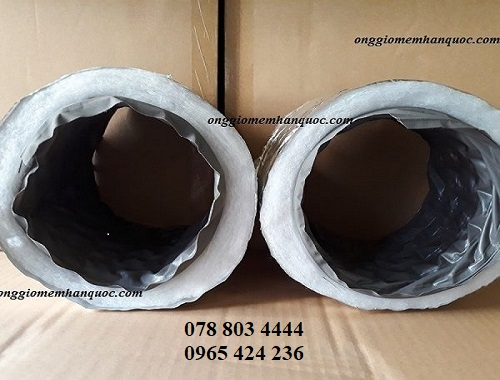 nhà cung cấp các loại ống gió mềm vải deahan flexible hàn quốc 2