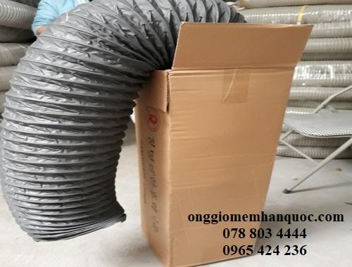 nhà cung cấp các loại ống gió mềm vải deahan flexible hàn quốc 3