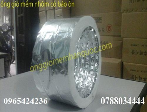 Ống gió mềm nhôm (bạc) Hàn Quốc- lựa chọn tối ưu dành cho hệ thống thông gió 2
