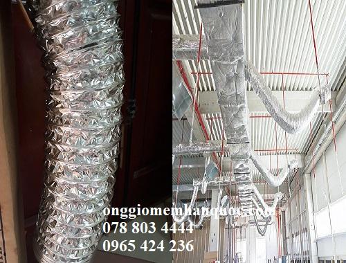 ống gió mềm nhôm (bạc) Hàn Quốc- Lựa chọn tối ưu dành cho hệ thống thông gió 3