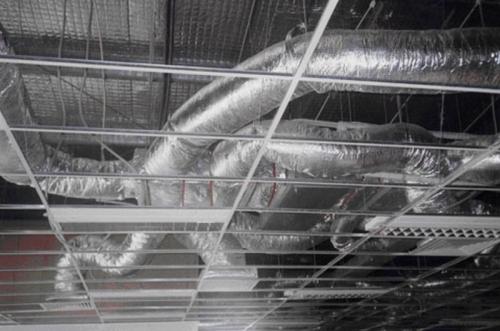 Ống gió mềm nhôm dùng trong hệ thống thông gió