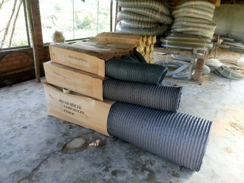 báo giá ống gió mềm vải fiber