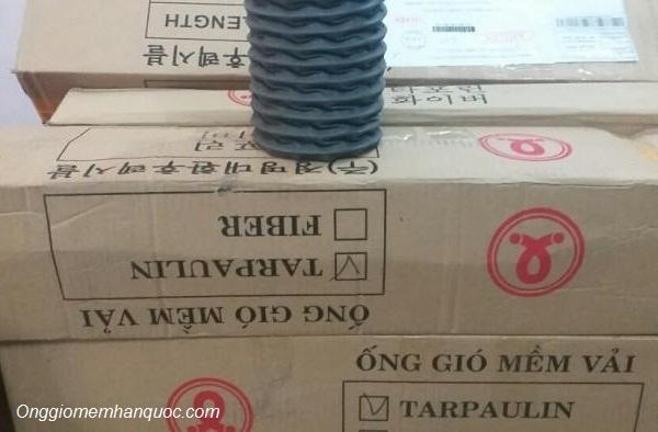 kích thước ống gió mềm Hàn Quốc vải tarpaulin