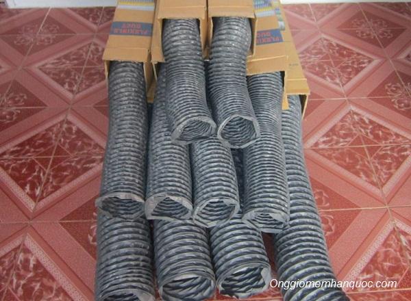 kích thước ống gió mềm vải fiber hàn quốc