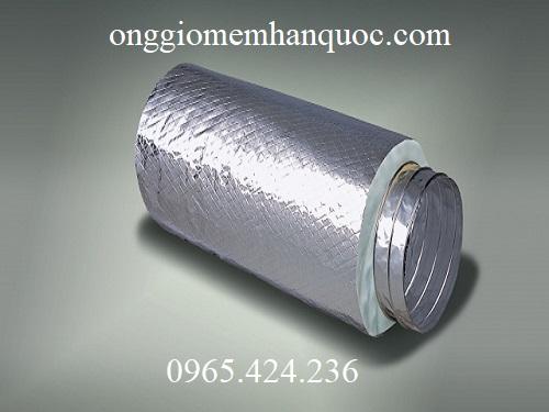 ống gió mềm bảo ôn bông polyestes 1