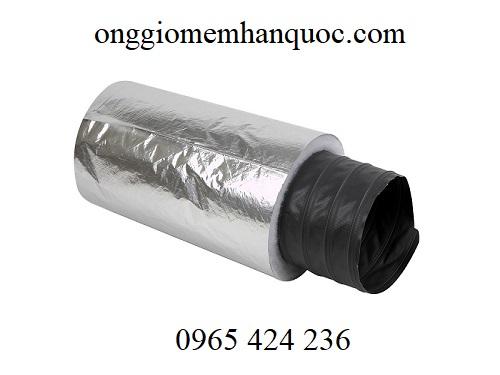 ống gió mềm bảo ôn bông polyestes 2