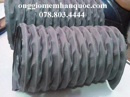 ống gió vải fiber thông gió cho nhà xưởng