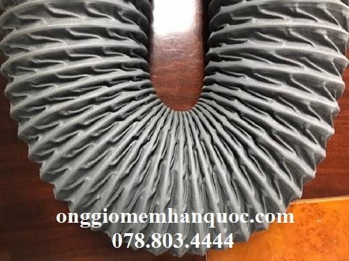 ống gió mềm vải tarpaulin thông gió cho nhà xưởng