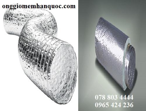 ống gió mềm nhôm bán trên thị trường