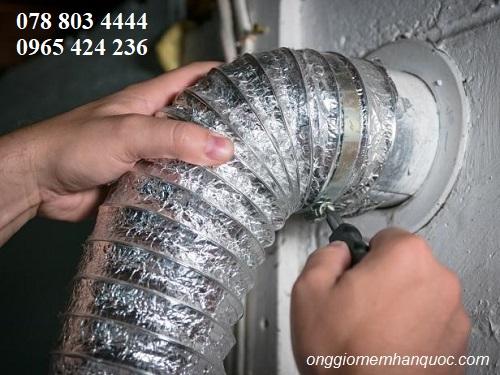 cách chọn kích thước chuẩn cho ống gió mềm Hàn Quốc 2