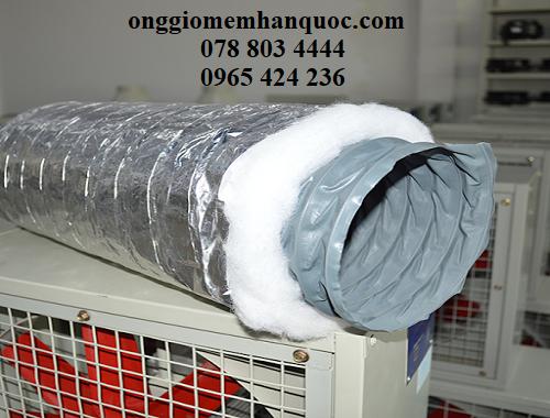 ống gió mềm bảo ôn cho hệ thồng điều hòa làm mát 2