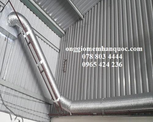 Những lưu ý khi lắp đặt ống gió mềm Hàn Quốc