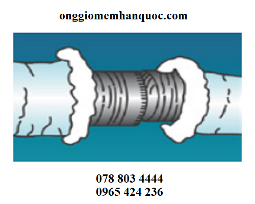 Phương pháp nối các ống gió mềm Hàn Quốc 1