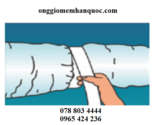Phương pháp nối các ống gió mềm Hàn Quốc 3