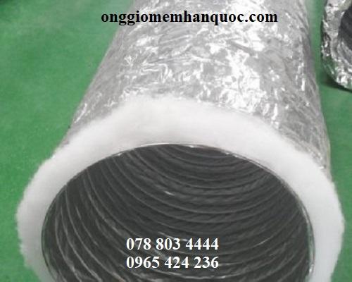 Tính chống cháy lan của ống gió bảo ôn Hàn Quốc 3