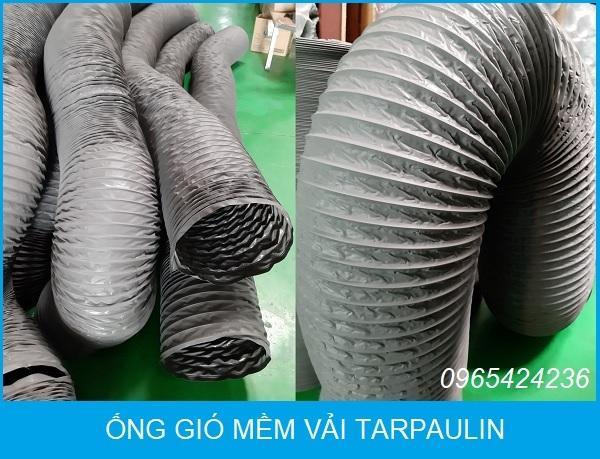 ống gió mềm vải tarpaulin